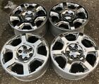 2009 2012 Ford F150 Expedition 20 Chrome Clad Wheel Rims Set of 4 OEM NICE F