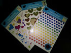 Set of 3 packages of Iron On Hearts T Shirt or Fabric Transfers with Bonus