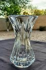 Waterford Crystal Glenn Posy Vase 6 Tall  Nearly 2 Pounds FLAWLESS