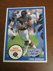 Mike Tomczak 1990 Kenner Starting Lineup Card - Chicago Bears