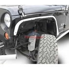Steinjager Front Fender Deletes for 2007 2018 Jeep Wrangler JK Cloud White