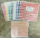 NEW ABC Letter 123 Number Sticker Sheets by Creative Memories Choose Style Color