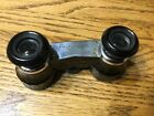 Opera glasses in leather case Airguide made in USA