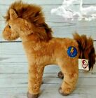 Ty Beanie Babies 2.0 Horse Saddle 2007 Brown Lightening Bolt Tag Attached CUTE