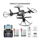 Holy Stone HS200 FPV Drone with Camera live video RC quadcopter 2 battery selfie