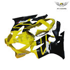 Fit for Honda 2001-2003 CBR600 F4I Yellow Injection Fairing Plastic a046-G14A
