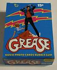 1978 Grease Series 1 Empty Bubble Gum Vintage Trading Card Box + 36 Wrappers