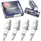 4pcs 2004 LEM LX3 Sport NGK Iridium IX Spark Plugs 49cc 2ci Kit Set Engine gz