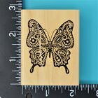 Hampton Art Stamps Butterfly Wood Mounted Rubber Stamp 1998