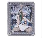 Nativity of Jesus Christ Bethlehem Mary Cotton Sofa Throw Blanket Wall Tapestry