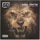50 Cent Autographed Animal Ambition: An Untamed Desire To Win Album Cover JSA