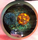 Glass Eye Studio Celestial Series Solar Eclipse Paperweight