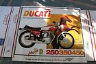 DUCATI BEVEL 450 MARK 3 DESMO  ADVERTISEMENT 250 350 450 MK 3 DESMO POSTER