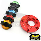 RED FCR 1/4 Quick Lock Gas Fuel Cap For Yamaha XJ 1300 SP 06 07 11 12 13 14