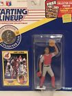 1991 Sandy Alomar Jr starting lineup Baseball figure card toy coin Indians MLB