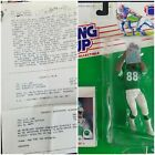 Kenner Starting Lineup 1988 Al Toon Jets Signed Prototype Figure w/ Spec Sheets