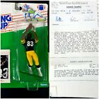 Kenner Starting Lineup 1988 Louis Lipps Signed Prototype Figure w/ Spec Sheets