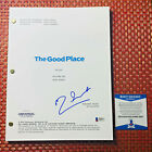 MANNY JACINTO SIGNED THE GOOD PLACE FULL PILOT SCRIPT w BECKETT BAS COA
