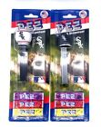 New Lot Of 2 Pez Candy & Dispenser MLB Chicago White Sox Baseball Ball And Hat