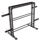 Olympic Dumbbell Rack Gym Plates Stand Weight Lifting Storage Fitness Equipment
