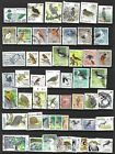 50 BIRDS WORDWIDE STAMPS ALL DIFFERENT USED
