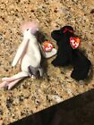Retired 1998 Ty Beanie Babies with manufacturer errors. 2 in lot.