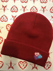 Jeffree Star Valentines Day Red Hearts Beanie Brand New In Hand Free Ship
