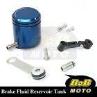 For Aprilia RSV4 R Factory 09-13 Blue CNC Front Brake Cylinder Fluid Oil Tank