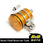 For KTM Duke 690 SM /SMC 05-12 Gold Racing CNC Rear Brake Fluid Reservoir Tank