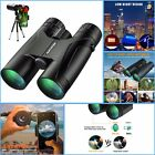 12x50 Powerful Binoculars High Power HD Binocular + Smartphone Holder + tripod