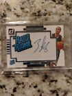 ZACH LAVINE RATED ROOKIE AUTO JUMBO JERSEY PATCH RC SP 2014-15 DONRUSS AUTOGRAPH