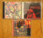 STEVIE SALAS 3 CD LOT (1 SIGNED, 1 RARE IMPORT + COLORCODE DEBUT)