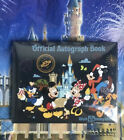 Walt Disney World Parks Mickey Mouse  Friends Official Autograph Book New