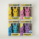 FUNKO POP PEEPS Yellow, Pink, Blue and Lavender Full Set w Protectors-Exclusives
