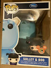 """Funko Pop Giant 9"""" Sulley & Metallic Boo SDCC 2012 Exclusive LE 480 Monsters Inc"""