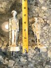 Lot Of 65 Metal Diecast Military Or Law Enforcement Police Trophy Toppers