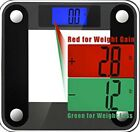 Best Body Fat Weight Scale Digital Light Display Tempered Glass Weight Watchers