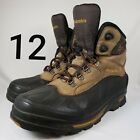 Columbia Bugabootoo Mens 12 Waterproof Snow Winter Boots Brown Black Insulated