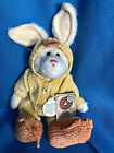 """Boyds Bears Bunny Duck 8"""" Plush Special Occasion Edition Graham Quackers 81509"""