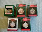 Hallmark 5 Ornaments Betsy Clark Home Christmas 1988 1990 1991 Country 1992 1993