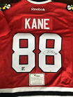 Autographed PATRICK KANE Chicago Blackhawks 2015 Stanley Cup Patch Jersey