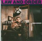Law And Order - Guilty of innocence   CD 1989  rare  SOUL KITCHEN TAINTED ANGEL