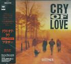 Cry of love - Brother  CD 1993 JAPAN VERY RARE ORG. PRESS WITH OBI  SRCS-6761