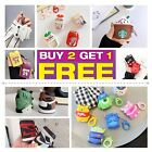 Cute 3D Cartoon AirPods Silicone Case Protective Cover For Apple AirPod 2