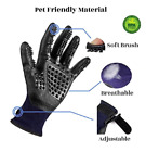 Hirundo Pet Grooming Gloves For Cats Dogs  Horses Pair US