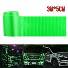 Car Truck Reflective Safety Warning Tape Self Adhesive Roll Film 5cmx3m Sticker