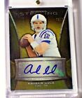 2013 Bowman Sterling Gold Refractor Autograph Andrew Luck 25 Colts Stanford