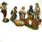 Vintage Italian Nativity Figures Made in Italy 7 Figures