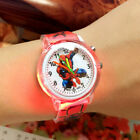 Spider-Man watch colored watch with a light source for boys, a gift for a party