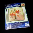 Janlynn Tiger Lilly Counted Cross Stitch Pillow Kit Painted Hues 023 0437
